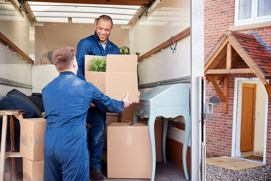 Best premium removalists unloading furniture and boxes